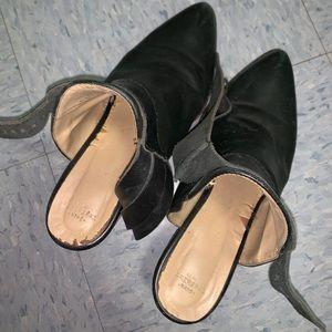 Zara ankle booties black